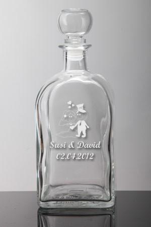 whiskyflasche als gastgeschenk