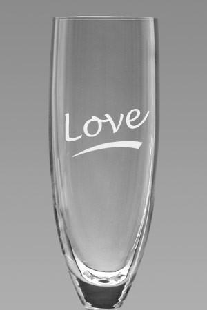 Sektglas mit Name