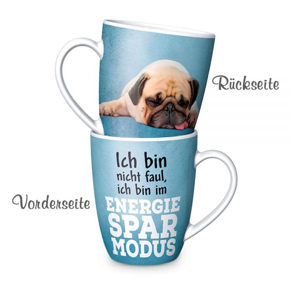 "Kaffeebecher ""Energie-Spar-Modus"""