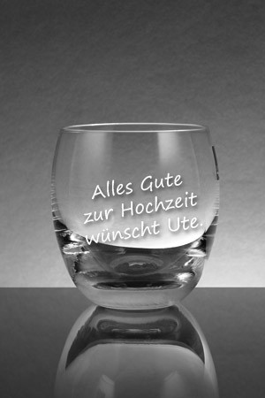 whiskeyglas mit text