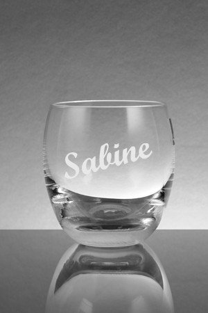 whiskeyglas mit Name graviert