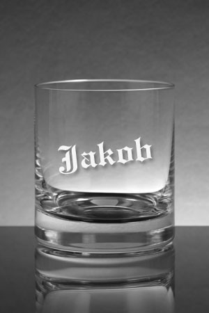 whiskyglas mit name