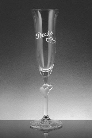sektglas namensgravur