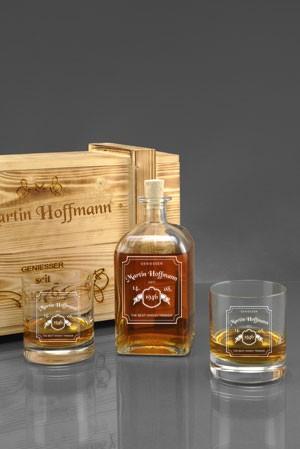 Whiskyglas personalisiert